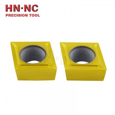 海纳CCMT060202 1P TN10U钢件精加工数控镗孔数控车刀片