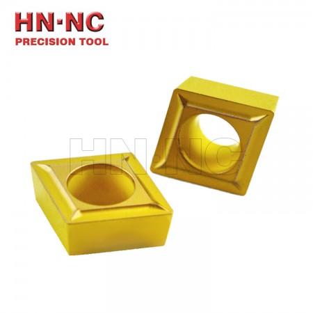 海纳CCMT09T308 1P TN10U难加工材料专用菱形镗孔数控刀片
