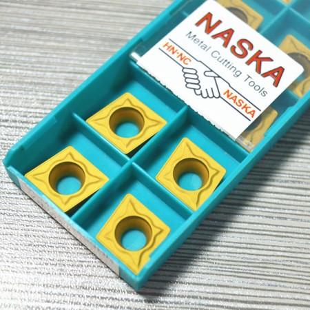 纳斯卡CCMT120408(R0.8)钢件专用菱形硬质合金涂层数控车刀片镗刀片刀粒