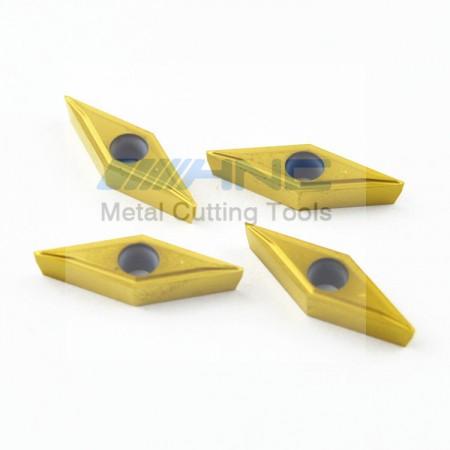 海纳VBGT110304 1P TN10U钢件专用菱形精车数控刀片刀粒