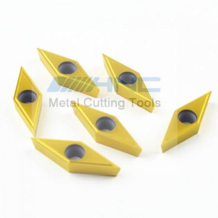 海纳 VBGT160404 1P TN10U钛合金专用菱形硬质合金涂层刀片