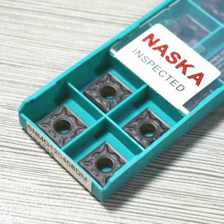 纳斯卡SNMG120408(R0.8)钢件专用正方形双色复合涂层数控车刀片刀粒