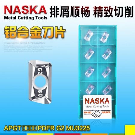 NASKA纳斯卡APGT113508PDFR-G2-MU3225铝用硬质合金数控铣刀片