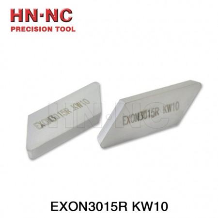 海纳EXON3015R KW10T(涂层)数控刀片硬质合金涂层燕尾槽铣刀盘铣刀片刀粒