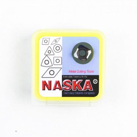 纳斯卡SEHT1204AFFN PC750高光PCD金刚石数控铣刀片有色金属专用