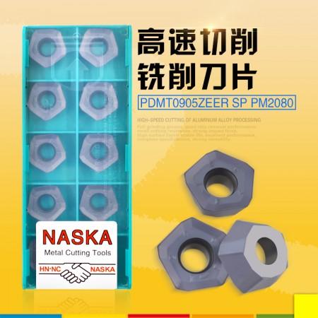 NASKA纳斯卡PDMT0905ZEER-SP PM2080五角快进给铣刀片数控刀具