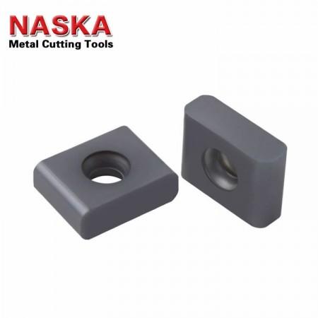 NASKA纳斯卡LPE435R20-F INP20硬质合金涂层重切削铣刀盘铣刀片