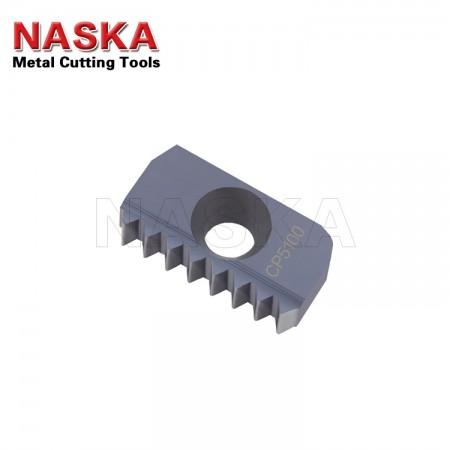 纳斯卡12 N 1.5 ISO 内螺纹梳刀数控螺纹铣刀片钢件不锈钢公制螺纹刀片