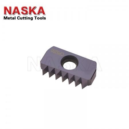 纳斯卡12-18 NPS 【内外螺纹通用】美制直管螺纹梳刀美标管螺纹铣刀片