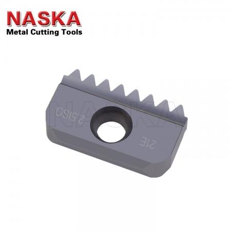 纳斯卡21 E 3.5 ISO 【外螺纹】数控内外螺纹铣刀数控刀片硬质合金数控螺纹梳刀片