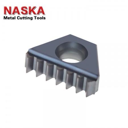 纳斯卡3B EN 24 W 【内外螺纹通用】英制惠氏W55度直管螺纹数控铣螺纹梳刀片