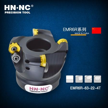 海纳EMRW-R6-63-22-5T圆鼻铣刀盘R6/1204数控圆弧平面铣刀盘