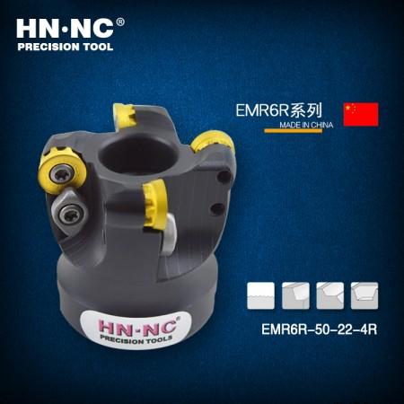 海纳EMRW-R6-50-22-5T圆鼻铣刀盘R6/1204数控圆弧平面铣刀盘