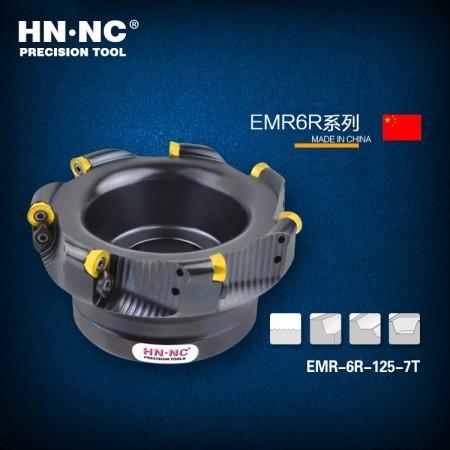 海纳EMRW-R6-200-60-9T圆鼻铣刀盘R6/1204数控圆弧平面铣刀盘