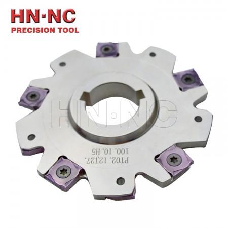 海纳SMP01三面刃铣刀盘直径D125×8-K40-12T 【厚度8mm】侧铣开槽数控铣刀盘