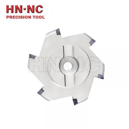 海纳TMR-6R-125-27-7T三面刃铣刀盘可转位切槽铣刀盘R6铣刀盘