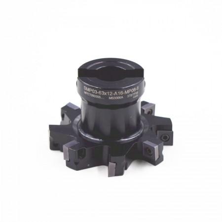 海纳SMP03-63×11-A16-MP08-8三面刃侧铣刀盘千鸟刃错齿开槽铣刀可转位数控刀具