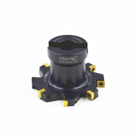 海纳SMP03-63×12-A16-MP08-8三面刃侧铣刀盘千鸟刃错齿开槽铣刀可转位数控刀具
