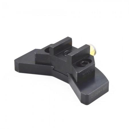 海纳BT40可调式止动块角度头油路刀柄侧铣头增速器定位块数控刀具